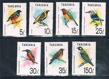 Birds Mint Never Hinged/MNH Tanzanian Stamps