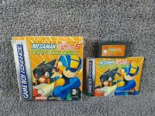 Gameboy Advance MEGAMAN Battle Network 5 *x Team Colonel Official BOXED GBA PAL