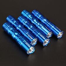 5X Portable Ultra Bright 3W Police Waterproof LED Mini Flashlight Torch Blue FT