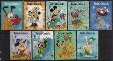 Turks & Caicos Stamp - Disney Aquatic Scenes Stamp - Nh