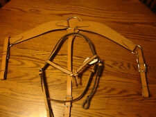 Matching Western Bridle, Breast Collar