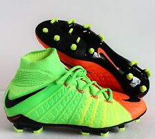 NIKE JR HYPERVENOM PHANTOM 3 DF FG GREEN SZ 5Y-WOMENS SZ 6.5 [882087-308]