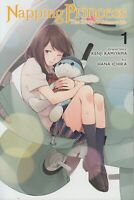 Napping Princess 1 Lot of Shojo Manga, English, 13+, Kenji Kamiyama