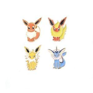 Pokemon Style Eevee Enamel Metal Pin Badge / Brooch Lapel Pin - Pokemon Go