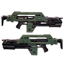 DIY 3D Puzzle 1:1 Paper Jigsaws Gun Model Aliens M41-A Pulse Rifle Free shipping