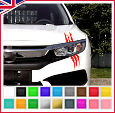 Monster Sticker Scratch Stripe Claw Marks Car bike Auto Vinyl Sticker Decal