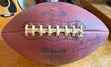 CLEMSON COLLECTIBLE WILSON FOOTBALL-SIGNED BY COACH FRANK HOWARD-PERSONALIZED