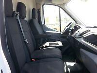 Lux Housses Des Sieges Noir Pour  Fit Ford Transit Custom 2013 +