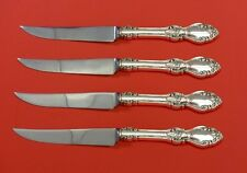 Old Virginia by Reed & Barton Sterling Silver Steak Knife Set 4pc HHWS  Custom