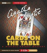 Mystery Masters: Cards on the Table by Agatha Christie (2005, CD, Unabridged)