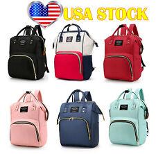 Nappy Bag Mommy Diaper Maternity Baby Large Capacity Shoulder Backpack Handbag