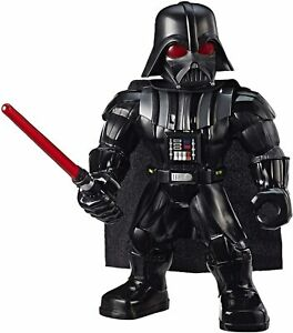 "Star Wars Galactic Heroes Mega Mighties Darth Vader 10"" Action Figure Lightsaber"