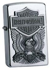 Starkes Biker-ZIPPO Harley Davidson EAGLE EMBLEM neu+ovp