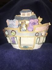 """Boyds Bears & Friends. """" Noah. The Big Boat And Friends� First Edition Retired"""