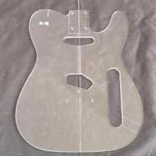 TL  electric guitar Transparent Acrylic Template Guitar Making Assembly Mold