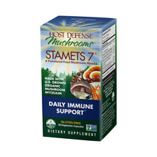Host Defense Stamets 7 Daily Immune Support Capsules - 30 Count