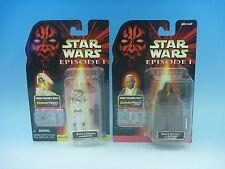Hasbro 1998 STAR WARS COMM TECH Battle Droid & Mace Windu EMS from Japan Rare