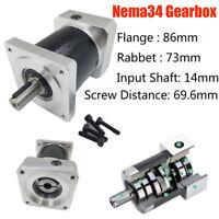Details about  /Nema32 Servo Gearbox Planetary 5:1 10:1 20:1 25:1 35:1 40:1 50:1 80:1 Input 19mm