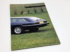 Lynx Eventer Jaguar XJ-S Shooting Break Brochure