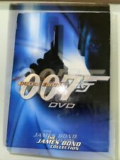 The James Bond Collection 007 Special Edition DVD Lot