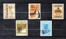 Ecuador Valores aéreos del año 1971-82 (BP-617)