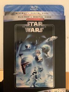 STAR WARS: The Empire Strikes Back (Blu-Ray) NO Digital code!!!! w/Slipcover