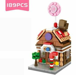 189 PCS Mini City Street Architectur Building block Toys Great Gift