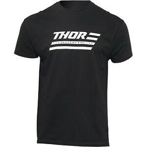 Thor MX United Tee T-Shirt - Black - Adult Sizes