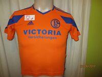 """FC Schalke 04 Adidas Kinder Ausweich Trikot 2003/04 """"VICTORIA"""" Gr.140- 152"""