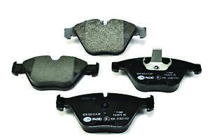 Hella Pagid Front Brake Pads - DB1498H fits BMW 5 Series E60 530i 530d 525i