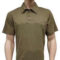 Oakley 431459 Polo Tee Size L Large New Olive Mens Regular Fit Collar T-Shirt