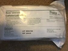 BARD URETHRAL CATHETERIZATION TRAY~#772414 with Preconnected Drain Bag. Lot of 3