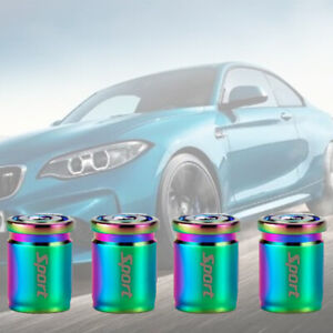 NEO Bullet Casing Stainless tire air valve stem cap wheel For Kia Hyund