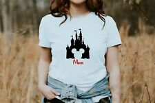 Disney MOM Family Vacation Tee Womens T-Shirt World Land Personalized  S,M,L,XL