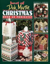 Best of Dick Martin Christmas, 60+ Projects plastic canvas pattern book NEW