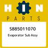 S885011070 Hino Evaporator sub assy S885011070, New Genuine OEM Part