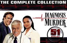 Diagnosis Murder Complete Series Season 1-8 1 2 3 4 5 6 7 8 NEW 51-DISC DVD SET