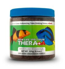 New Life Spectrum Thera+A Fish Formula Color Enhancing 1mm Sinking Pellets 125gm