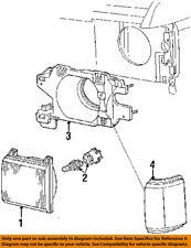 FORD OEM 87-91 F-350-Headlight Head Light Headlamp E7TZ13007D