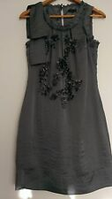 Vero Moda  cut work cocktail dress size XS  Grey --VGC--  perfect for party