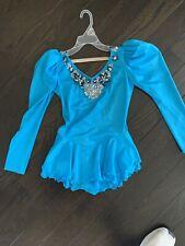 Blue Ice Skating Dress Size Girls 10