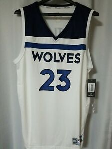 NWT Sz. L Jimmy Butler Minnesota Timberwolves Fanatics NBA Replica Jersey Mens