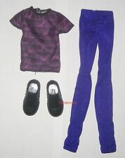 Monster High Student Disembody Council Slo Mo Boy Doll Outfit Clothes Shoes NEW