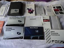 1992 BMW 525i 535i & M5 owners manual set complte w/ pouch good condition