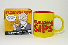 "Unemployed Philosopher's Guild ""Freudian Sips"" Stoneware Mug"
