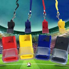 EDC fox40 Plastic Soccer Football Basketball Sports Professional Referee Whistle