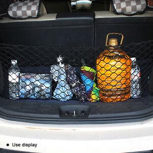 Car Trunk Luggage 4 Hooks Cargo Net Hold Down Envelope Style 90*30cm Universal
