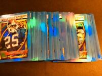 1994 Topps Finest Refractor w/scratches NFL Parallel You Pick Your Card