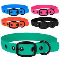 Adjustable Dog Collar Waterproof Pet Collars Puppy Small Medium Large Dogs