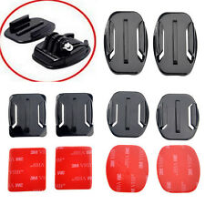 8x Flat+8x Curved Surface Mounts with Adhesive for GoPro HD Hero2 3 3+ Camera